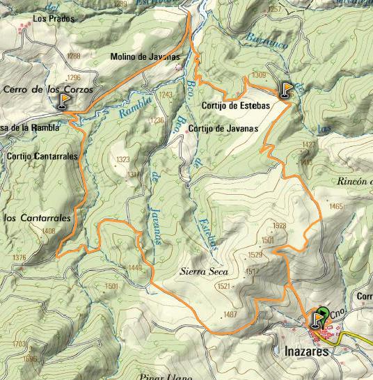 Mapa Half
